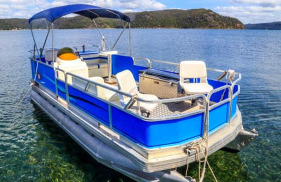 Pontoon blueR